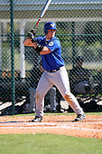 December 29, 2009:  Matt Cawthon (14) of the Baseball Factory Gators team during the Pirate City Baseball Camp & Tournament at Pirate City in Bradenton, Florida.  (Copyright Mike Janes Photography)