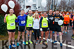 Race Director Michelle Greaney pictured with pacers at the Optimal Fitness 10 miler and 5k road race, at The Rose Hotel, Tralee, on Sunday morning last, were  l-r: Mike Kissane Chris Grayson Fozzy Forristel Vinny O'Leary, James Daly and JJ O'Connell.