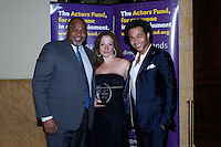 LOS ANGELES - DEC 3: David Reivers, Martha Callari, Corbin Bleu at The Actors Fund's Looking Ahead Awards at the Taglyan Complex on December 3, 2015 in Los Angeles, California
