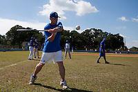 BASEBALL - POLES BASEBALL FRANCE - TRAINING CAMP CUBA - HAVANA (CUBA) - 13 TO 23/02/2009 - OLIVIER FAURE (FRANCE)