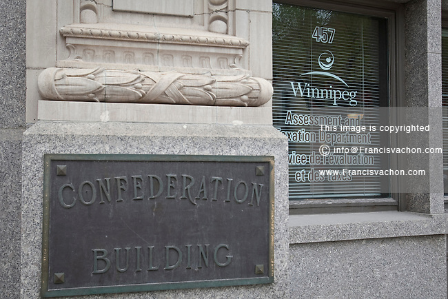 Winnipeg Assessment and taxation Department is pictured the Confederation building in Winnipeg Monday May 23, 2011.