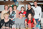 HAPPY BIRTHDAY: Padraig Falvey, Kerins Pk, Tralee, pictured with friends in La Scala restaurant, Tralee celebrating his 34th birthday last Sunday  evening, seated l-r: Phyllis Maher, Padraig Falvey and Ruth Maher. Back l-r: Eileen Falvey, Shannon Hanbidge, Jackie Collins, Ciara Collins, with Ciara, Denis and Ross Hanbidge.