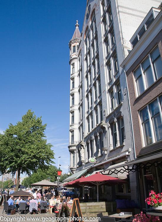 Witte Huis 1897 twelve storey apartment block, Oude Haven, Rotterdam, Netherlands