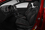 Front seat view of 2017 Hyundai Elantra Sport 4 Door Sedan Front Seat  car photos