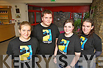 Pictured at the opening of Kerry Film Festival at Siamsa on tuesday evening were volunteers Justyna Orlik, Oscar Brophy, Aoife Fitzmaurice and Maria McCarthy.