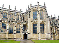 St Georges Chapel where the Royal wedding will take place, Windsor Castle in Windsor, UK on Saturday February 3rd 2018<br /> CAP/ROS<br /> <br /> CAP/ROS<br /> &copy;ROS/Capital Pictures