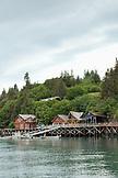 USA, Alaska, Homer, the Saltry restaurant at Halibut Cove