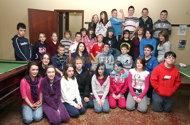 Foroige members at the Tullyallen Foroige Open Night...Photo NEWSFILE/Jenny Matthews.(Photo credit should read Jenny Matthews/NEWSFILE)....This Picture has been sent you under the condtions enclosed by:.Newsfile Ltd..The Studio,.Millmount Abbey,.Drogheda,.Co Meath..Ireland..Tel: +353(0)41-9871240.Fax: +353(0)41-9871260.GSM: +353(0)86-2500958.email: pictures@newsfile.ie.www.newsfile.ie.FTP: 193.120.102.198.