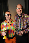 Edward McCartney and David Gooding at Martini Madness at the Center for Contemporary Craft Thursday Jan. 22,2015.(Dave Rossman For the Chronicle)