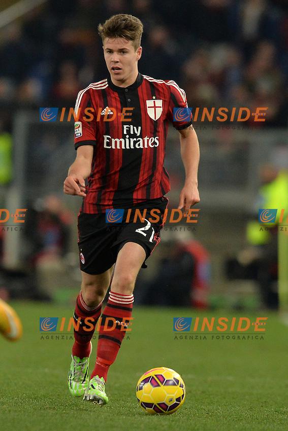 Marco Van Ginkel Milan.<br /> Roma 24-01-2015 Stadio Olimpico. Football Calcio 2014/2015 Serie A. Lazio - Milan. Foto Antonietta Baldassarre / Insidefoto