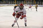 ST CHARLES, MO - MARCH 19:  Sam Cogan (7) of the Wisconsin Badgers skates against the Clarkson Golden Knights during the Division I Women's Ice Hockey Championship held at The Family Arena on March 19, 2017 in St Charles, Missouri. Clarkson defeated Wisconsin 3-0 to win the national championship. (Photo by Mark Buckner/NCAA Photos via Getty Images)
