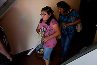 leaving0627 Vanessa Sanchez, 10, (CQ) sheds tears while leaving her West Valley home to move with her family to Pennsylvania. She is a U.S. citizen and her parents are undocumented. They left Arizona to flee the new tough immigration law.  (Pat Shannahan/ The Arizona Republic)
