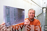 Tommy Collins who submitted a proposal in favour of retaining the laneway.   Copyright Kerry's Eye 2008