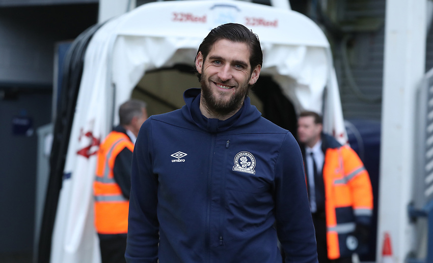 Blackburn Rovers' Danny Graham<br /> <br /> Photographer Rachel Holborn/CameraSport<br /> <br /> The EFL Sky Bet Championship - Preston North End v Blackburn Rovers - Saturday 24th November 2018 - Deepdale Stadium - Preston<br /> <br /> World Copyright © 2018 CameraSport. All rights reserved. 43 Linden Ave. Countesthorpe. Leicester. England. LE8 5PG - Tel: +44 (0) 116 277 4147 - admin@camerasport.com - www.camerasport.com