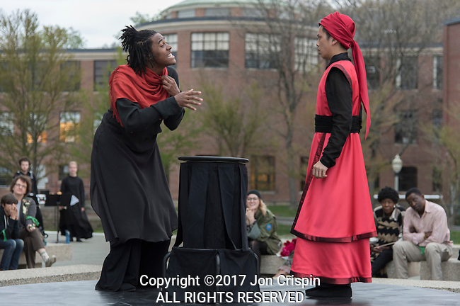 UMASS Theatre production of Ta'Zieh