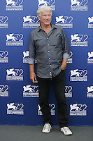 Jurgen Prochnow attends a photocall for the movie 'Remember' during the 72nd Venice Film Festival at the Palazzo Del Cinema in Venice, Italy, September 10, 2015.<br /> UPDATE IMAGES PRESS/Stephen Richie