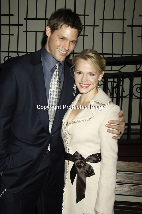 Justin Bruening and Alexa Havins..at ABC Casino Night on October 27, 2005 at The Lighthouse at Chelsea Piers. ..Photo by Robin Platzer, Twin Images