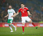 Andrew Crofts of Wales during the international friendly match at the Cardiff City Stadium. Photo credit should read: Philip Oldham/Sportimage