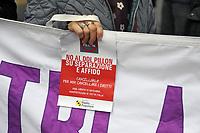 - Milano, 10 novembre 2018, manifestazione contro il disegno di legge del senatore leghista Pillon sull&rsquo;affido condiviso dei figli e il loro mantenimento<br /> <br /> - Milan, 10 November 2018, demonstration against the bill by the Northern League senator Pillon on the shared custody of the children and their maintenance