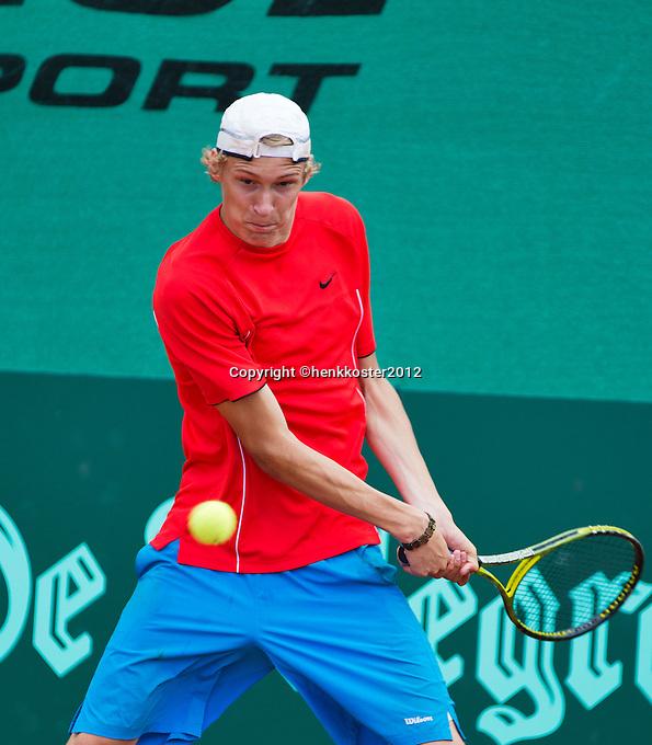 11-08-12, Netherlands, Hillegom, Tennis, NJK,   Niels Lootsma