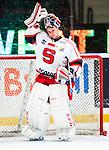 Stockholm 2014-02-24 Ishockey Hockeyallsvenskan Djurg&aring;rdens IF - S&ouml;dert&auml;lje SK :  <br /> S&ouml;dert&auml;ljes m&aring;lvakt Sebastian Idoff <br /> (Foto: Kenta J&ouml;nsson) Nyckelord:  portr&auml;tt portrait
