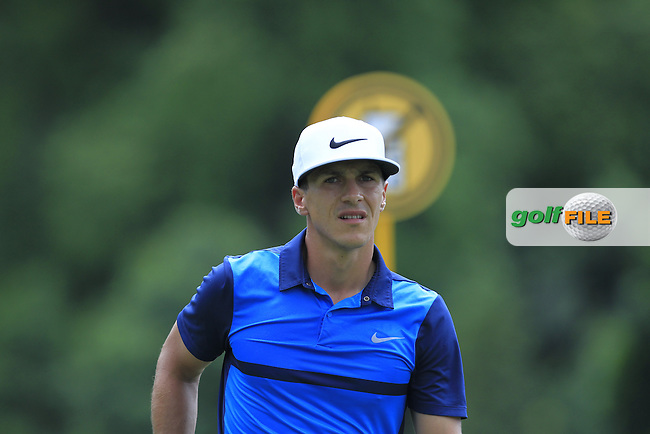 Thorbjorn Olesen (DEN) in action during Round Two of the Maybank Championship Malaysia 2016, at the Royal Selangor Golf Club, Kuala Lumpur, Malaysia.  19/02/2016. Picture: Golffile | Thos Caffrey.<br /> <br /> All photos usage must carry mandatory copyright credit (&copy; Golffile | Thos Caffrey).