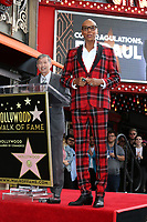 LOS ANGELES - MAR 16:  RuPaul,  RuPaul Andre Charles at the RuPaul Star Ceremony on the Hollywood Walk of Fame on March 16, 2018 in Los Angeles, CA