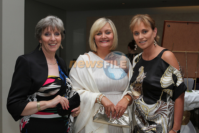 Kathleen Delahan, Patient School of Motoring, Dorothy Quinn, Network Limerick and Deirdre Waldron, Fuzion at the Network Ireland National Conference and Businessswomen of the Year Awards 2012 - Friday 28th September in Drogheda, Co. Louth..Photo NEWSFILE/Jenny Matthews.