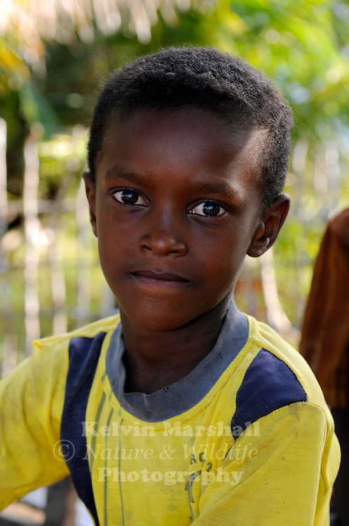 Young Malagasy boy smiles for the camera. Diego Suarez, Northern Madagascar.