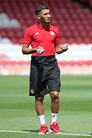 Brentford's recent signing, Said Benrahma pre-match during Brentford vs Rotherham United, Sky Bet EFL Championship Football at Griffin Park on 4th August 2018
