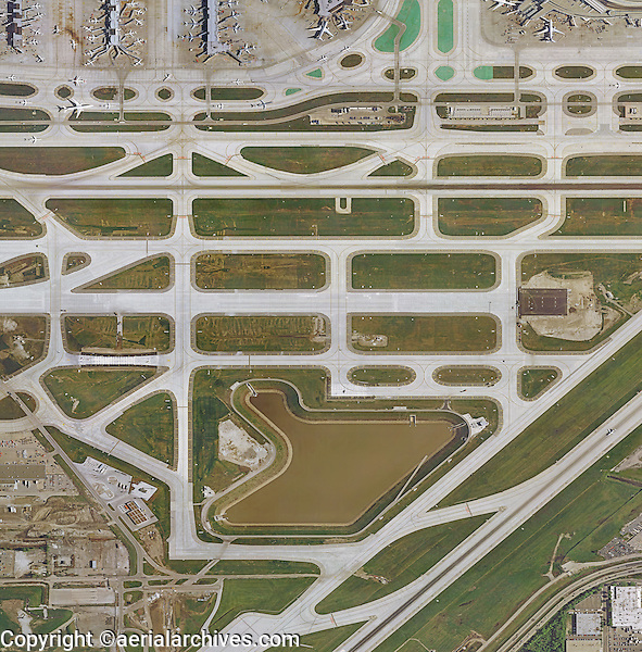 Ohare Airport Map