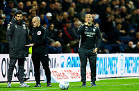 Preston North End manager Alex Neil shouts instructions to his team from the technical area<br /> <br /> Photographer Alex Dodd/CameraSport<br /> <br /> The EFL Sky Bet Championship - Preston North End v Leeds United - Tuesday 22nd October 2019 - Deepdale Stadium - Preston<br /> <br /> World Copyright © 2019 CameraSport. All rights reserved. 43 Linden Ave. Countesthorpe. Leicester. England. LE8 5PG - Tel: +44 (0) 116 277 4147 - admin@camerasport.com - www.camerasport.com