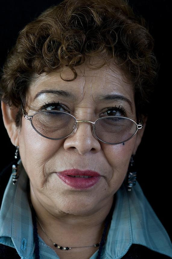 Maria Eugenia Landeta, diseño industrial trabajadoras. Portraits from the Mexico City Campus of UNAM. August 18, 2008