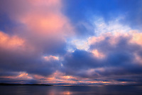CLouds at sunrise on the Atlantic Ocean<br /> Channel-Port aux Basques<br /> Newfoundland &amp; Labrador<br /> Canada