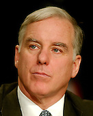 Former Governor Howard Dean (Democrat of Vermont), Chairman, Democratic National Committee, watches the proceedings at the 2007 Democratic National Committee Winter Meeting, where all of the announced and prospective Democratic candidates for President spoke in Washington, D.C. on Saturday, February 3, 2007..Credit: Ron Sachs / CNP