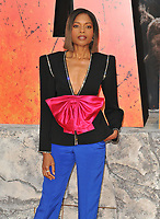 Naomie Harris at the &quot;Rampage&quot; European film premiere, Cineworld Empire, Leicester Square, London, England, UK, on Wednesday 11 April 2018.<br /> CAP/CAN<br /> &copy;CAN/Capital Pictures