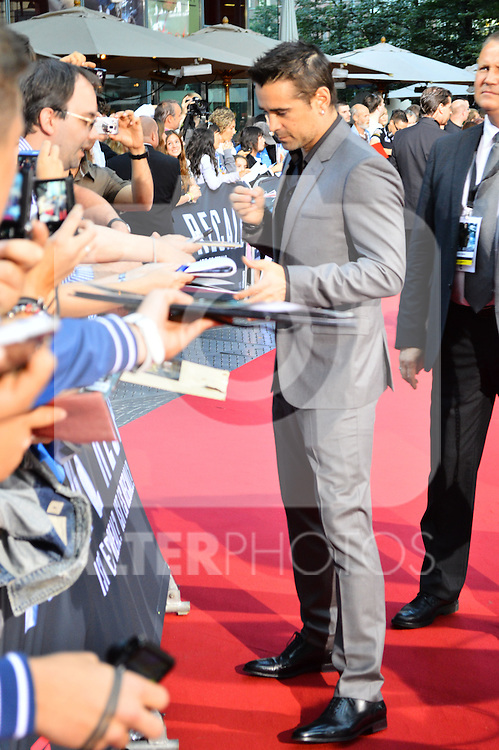 "Berlin, August 13, 2012:  Colin Farrell attends the ""Total Recall"" Premiere /NortePhoto.com....**CREDITO*OBLIGATORIO** *No*Venta*A*Terceros*..*No*Sale*So*third* ***No*Se*Permite*Hacer Archivo***No*Sale*So*third*"