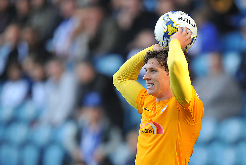 Preston North End's Adam Reach<br /> <br /> Photographer Dave Howarth/CameraSport<br /> <br /> Football - The Football League Sky Bet Championship - Sheffield Wednesday v Preston North End - Saturday 3rd October 2015 - Hillsborough - Sheffield<br /> <br /> &copy; CameraSport - 43 Linden Ave. Countesthorpe. Leicester. England. LE8 5PG - Tel: +44 (0) 116 277 4147 - admin@camerasport.com - www.camerasport.com