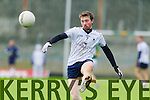 Kerry in action against Cillian Cromwell IT Tralee in the McGrath cup at Austin Stack Park on Sunday.