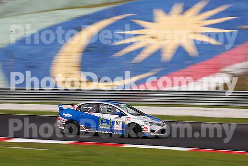 KUALA LUMPUR, MALAYSIA - May 29: Claire Jedrek of Singapore (#82) Malaysia Championship Series Round 1 at Sepang International Circuit on May 29, 2016 in Kuala Lumpur, Malaysia. Photo by Peter Lim/PhotoDesk.com.my