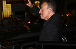 Bruce Springsteen leaving the Walter Kerr Theater for the official opening night  performance of 'Springsteen On Broadway' on October 12, 2017 in New York City.