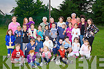 The Children of Chernobyl Fund Tralee & District werre treated a to a fun evening at the Aust Stack's GAA club on Tuesday evening by the Parents and Aiden O'Connor Chairperson of Astin Stacks GAA Club,