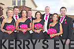 Bridesmaids & Best Men at Kieran & Hilary Donaghy's Wedding in Watervilleon Friday pictured here l-r; Emma McCarthy, Conor Donaghy, Sarah Donaghy, Vinnie Murphy, Jane Kerrisk, Michael Quirke, Elaine Curran & Daniel Bohan.