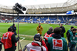 10.03.2019, Prezero-Arena, Sinsheim, GER, 1 FBL, TSG 1899 Hoffenheim vs 1. FC Nuernberg, <br /> <br /> DFL REGULATIONS PROHIBIT ANY USE OF PHOTOGRAPHS AS IMAGE SEQUENCES AND/OR QUASI-VIDEO.<br /> <br /> im Bild: Julian Nagelsmann (Trainer TSG Hoffenheim) im TV-Interview<br /> <br /> Foto &copy; nordphoto / Fabisch