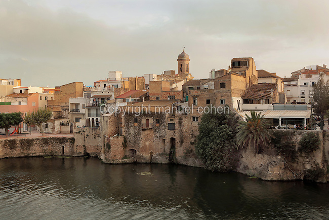 Town of Amposta at the mouth of the Ebro river, Tarragona, Spain. Picture by Manuel Cohen