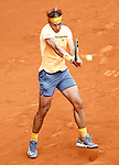 Rafael Nadal, Spain, during Madrid Open Tennis 2016 Semifinal match.May, 7, 2016.(ALTERPHOTOS/Acero)