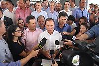Monte Mor (SP), 10/01/2020 - Doria-Poltiica - O governador do Estado de São Paulo, João Doria (PSDB), participa da inauguração da Unidade Básica de Saúde (UBS) de Monte Mor, com o secretário da Saúde, José Henrique Germann nesta sexta-feira (10).