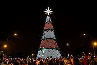 SAO PAULO, SP - 26.11.2016 - ARVORE-NATAL-SP - Inauguração da Árvore de Natal na noite deste Sábado (26), no Parque do Ibirapuera, zona sul de São Paulo.<br /> <br /> (foto: Fabricio Bomjardim / Brazil Photo Press/Folhapress) SAO PAULO, SP - 26.11.2016 - ARVORE-NATAL-SP - Inauguração da Árvore de Natal na noite deste Sábado (26), no Parque do Ibirapuera, zona sul de São Paulo.<br /> <br /> (foto: Fabricio Bomjardim / Brazil Photo Press)
