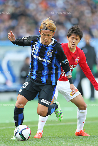 Football Soccer Fuji Xerox Super Cup 2015 Gamba Osaka 2 0 Urawa Red Diamonds Nippon News