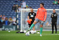 Blackburn Rovers' Corry Evans during the pre-match warm-up <br /> <br /> Photographer Kevin Barnes/CameraSport<br /> <br /> The EFL Sky Bet Championship - West Bromwich Albion v Blackburn Rovers - Saturday 31st August 2019 - The Hawthorns - West Bromwich<br /> <br /> World Copyright © 2019 CameraSport. All rights reserved. 43 Linden Ave. Countesthorpe. Leicester. England. LE8 5PG - Tel: +44 (0) 116 277 4147 - admin@camerasport.com - www.camerasport.com